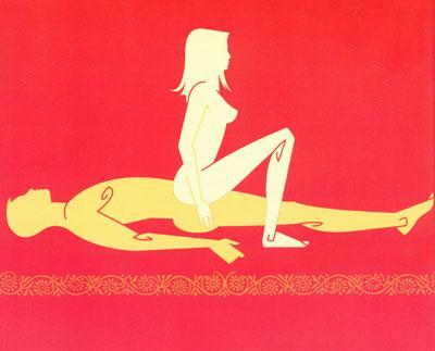 Posições do tantra para fazer Sexo com Amor 8